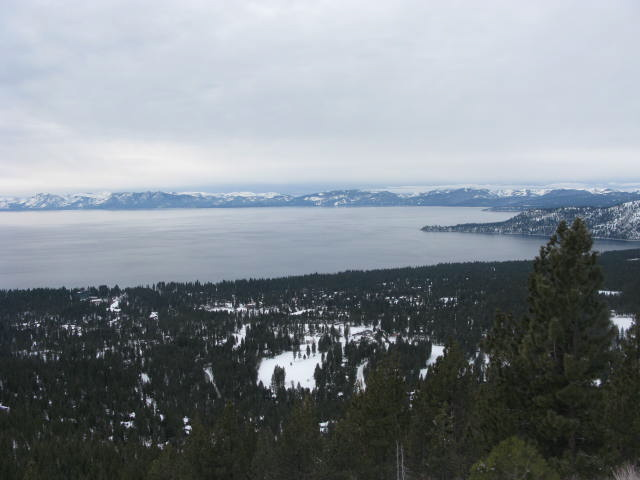 Great view of Lake Tahoe 12-09