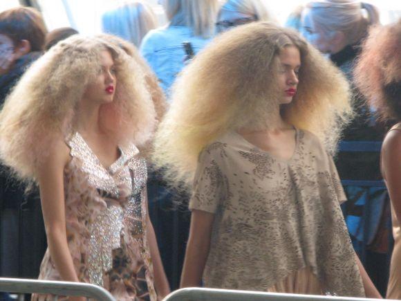 TopShop's Unique London Fashion show in Waterloo Terminal