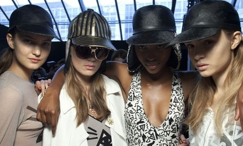 Unique:topshop- hats