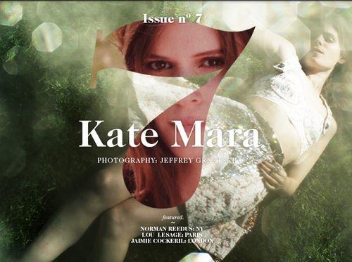 Kate Mara Dolce Gabbana 1