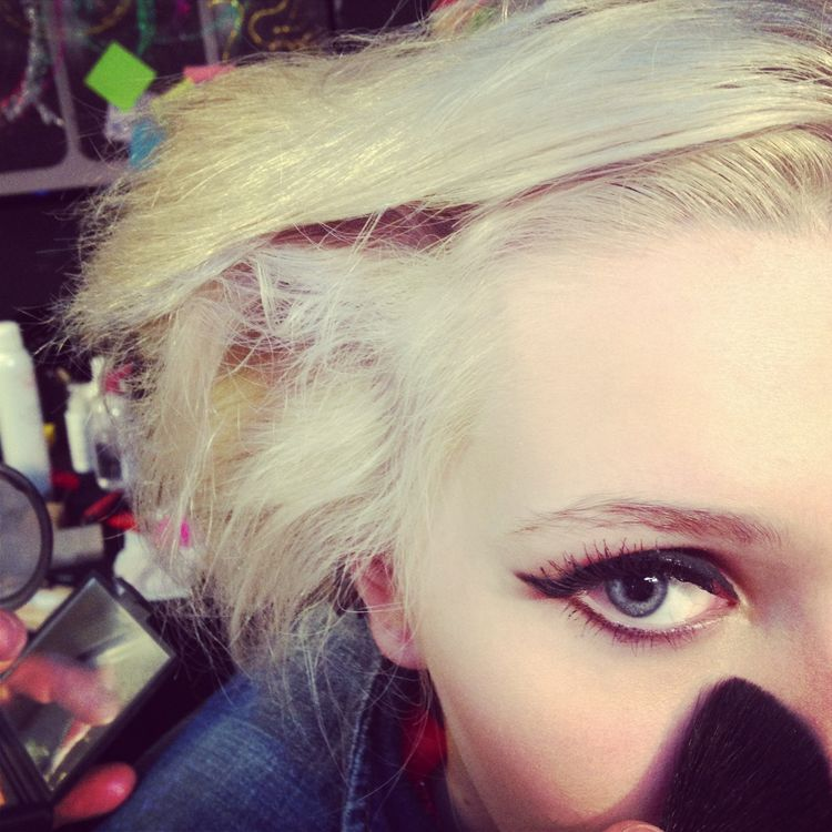 Abigail Breslin for ContentMode BTS 1