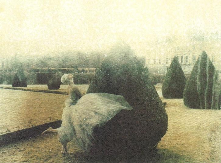 Commes des Garcons ad by Deborah Turbeville