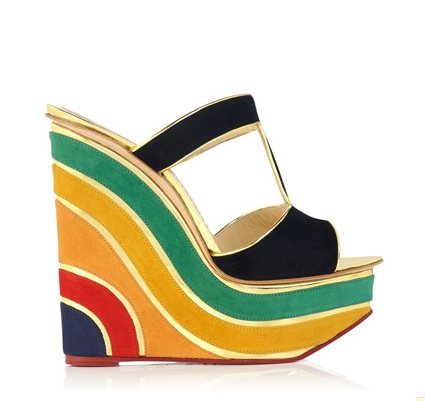 Rainbow wedge platform