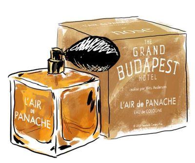 The Grand Budapest Hotel - L'Air de Panache