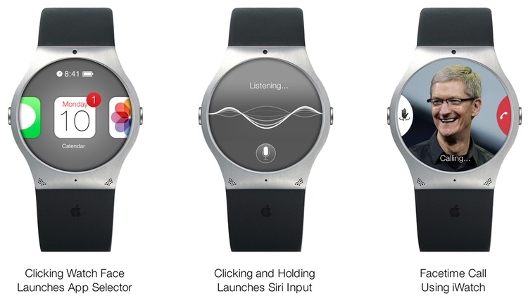 Iwatch Concept by Stephen Olmstead